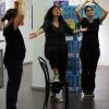 Improvisation zu einer ausgestellten, von den Besuchern ausgewählten Arbeit.