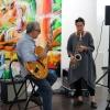Susanne Bachmann und Lorenzo Petrocca sorgen für den musikalischen Rahmen.