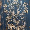 Dr. Birgit Blessing: Ganesha, Holzschnitt, DIN A4