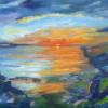 Roswitha Eicher: Urlaubsträume, Acryl, 80 x 100 x 1,5 cm