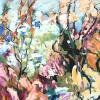 Eva Hoppert: Frühling in der Luft, 2021, Acryl auf Leinwand, 110 x 80 cm