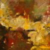 Margarete Baur: Im Fluss, Acryl, 70 x 90 cm