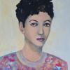 Roswitha Eicher: Olga, Acryl, 50 x 40 x 1,5 cm