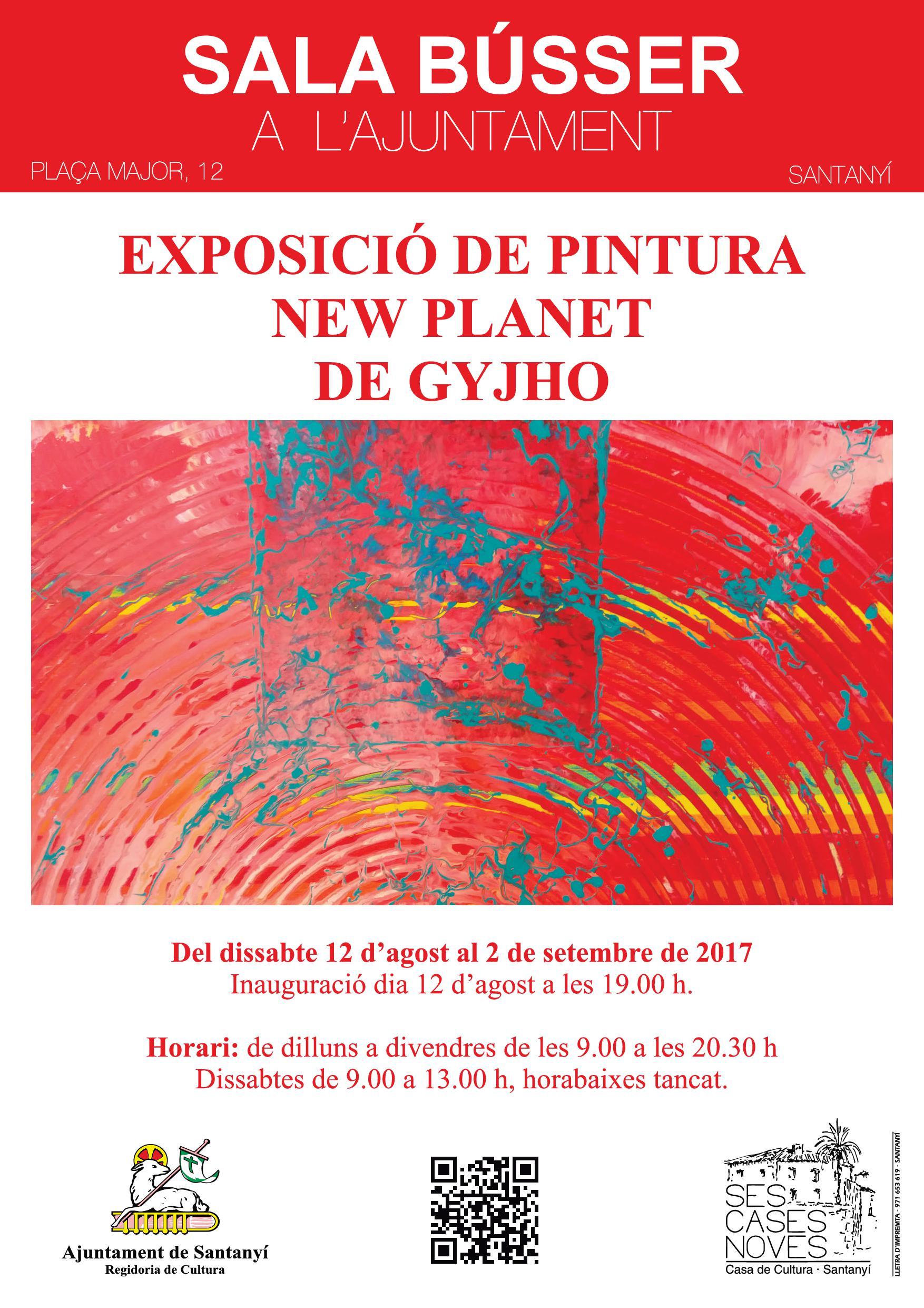 Gyjhos Ausstellung CARTELL EXPO Einladung
