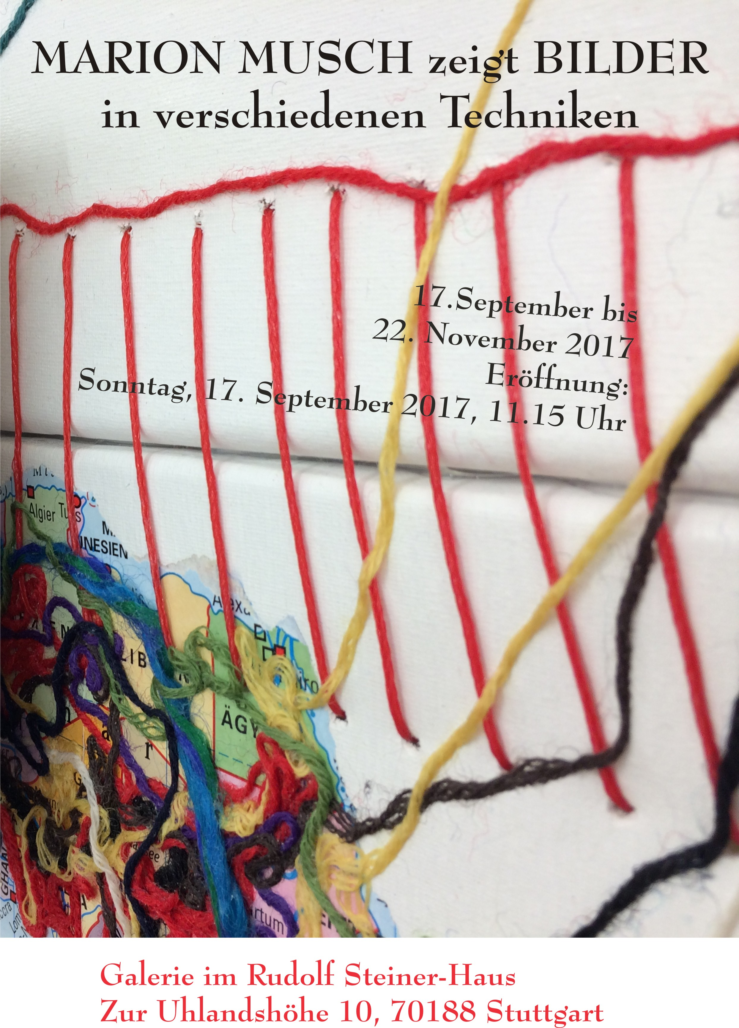 Marion Musch Ausstellung