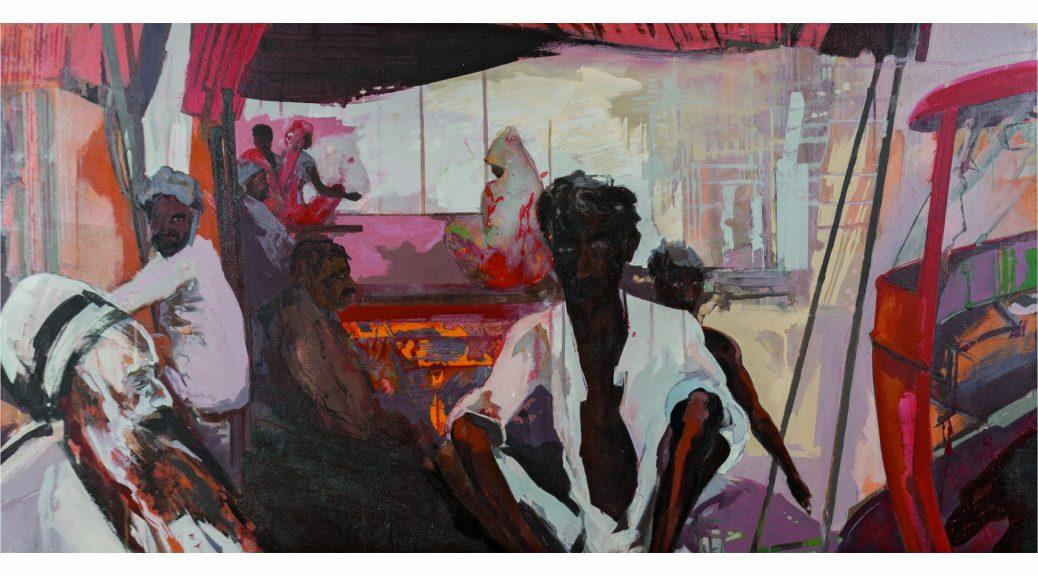 Künstler der Filder: Klaus-Dieter Schmidt, Indien